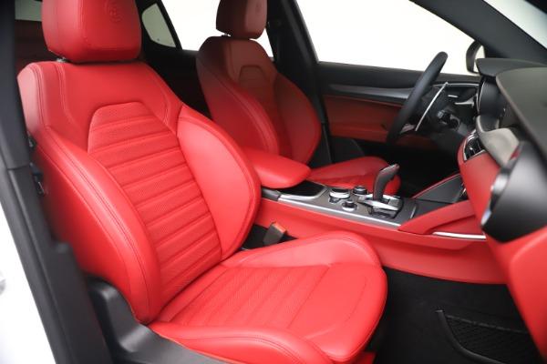 New 2021 Alfa Romeo Stelvio Ti Sport Q4 for sale Call for price at Alfa Romeo of Greenwich in Greenwich CT 06830 20