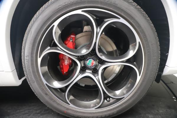 New 2021 Alfa Romeo Stelvio Ti Sport Q4 for sale Call for price at Alfa Romeo of Greenwich in Greenwich CT 06830 22