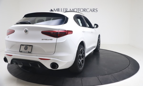 New 2021 Alfa Romeo Stelvio Ti Sport Q4 for sale Call for price at Alfa Romeo of Greenwich in Greenwich CT 06830 7