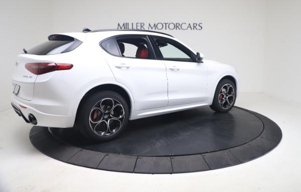 New 2021 Alfa Romeo Stelvio Ti Sport Q4 for sale Call for price at Alfa Romeo of Greenwich in Greenwich CT 06830 8