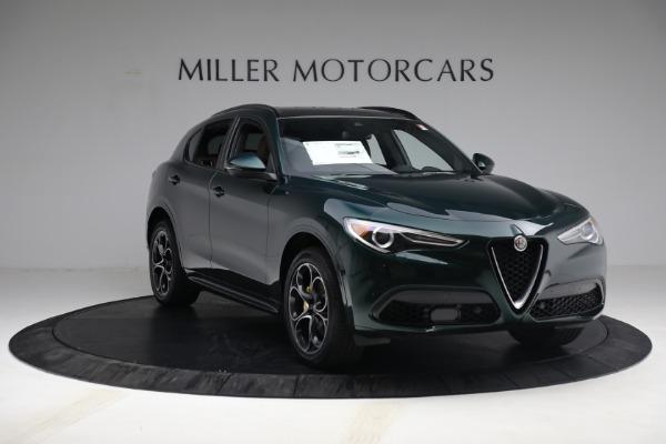 New 2021 Alfa Romeo Stelvio Ti Sport Q4 for sale Sold at Alfa Romeo of Greenwich in Greenwich CT 06830 11