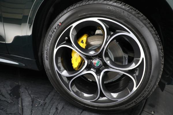 New 2021 Alfa Romeo Stelvio Ti Sport Q4 for sale Sold at Alfa Romeo of Greenwich in Greenwich CT 06830 23