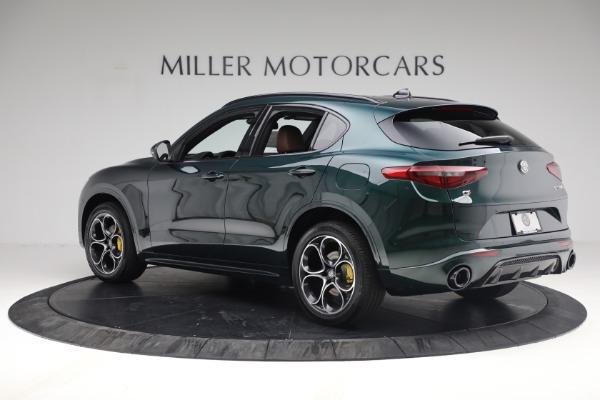 New 2021 Alfa Romeo Stelvio Ti Sport Q4 for sale Sold at Alfa Romeo of Greenwich in Greenwich CT 06830 4