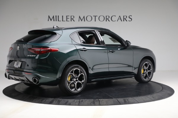 New 2021 Alfa Romeo Stelvio Ti Sport Q4 for sale Sold at Alfa Romeo of Greenwich in Greenwich CT 06830 8