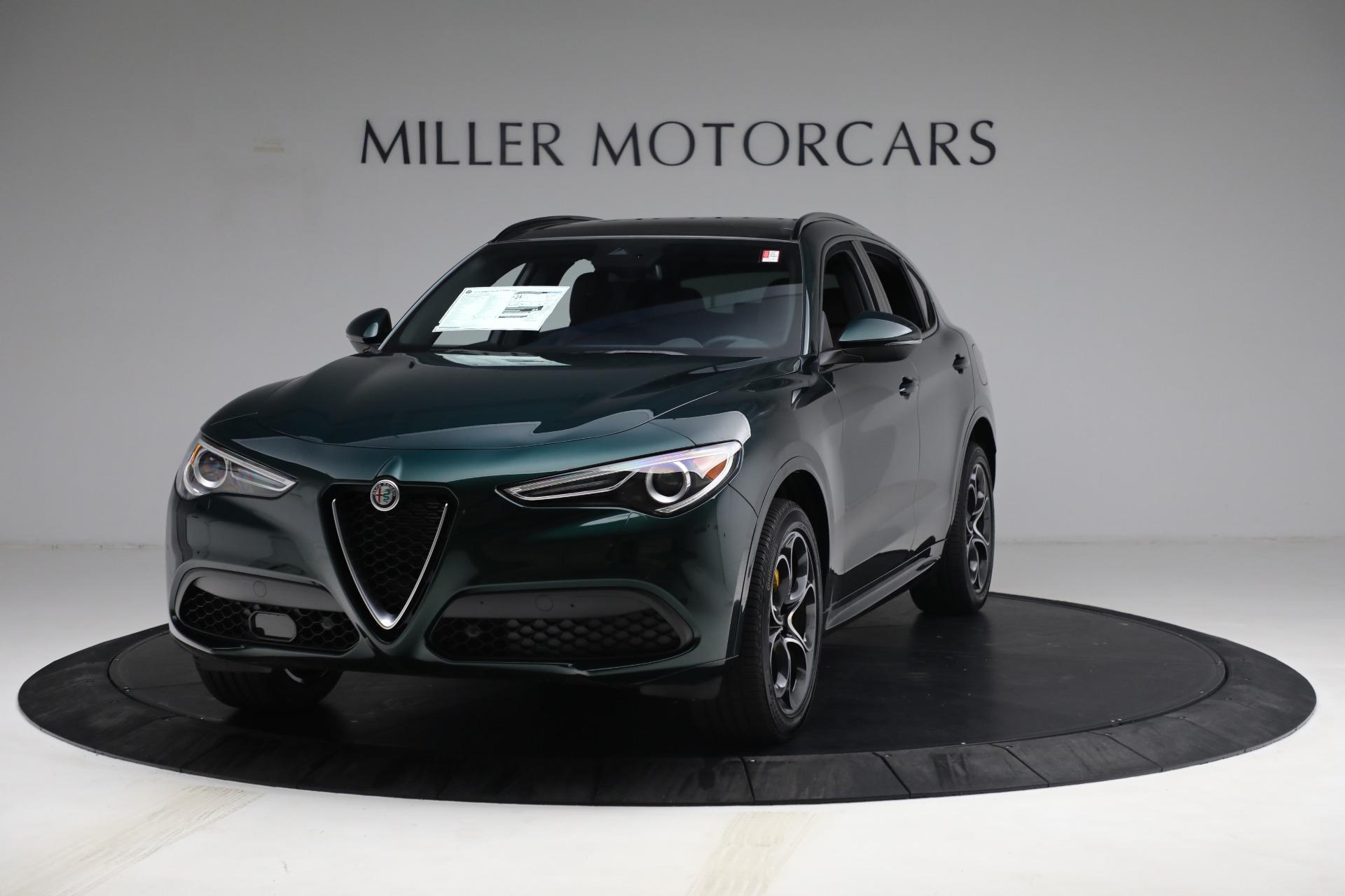 New 2021 Alfa Romeo Stelvio Ti Sport Q4 for sale Sold at Alfa Romeo of Greenwich in Greenwich CT 06830 1