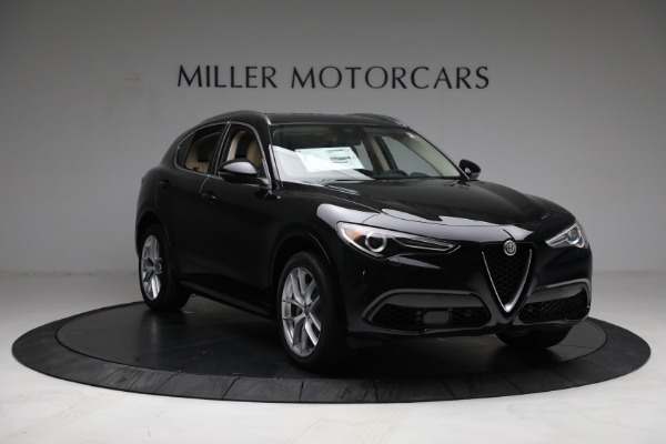 New 2021 Alfa Romeo Stelvio Ti Q4 for sale $57,400 at Alfa Romeo of Greenwich in Greenwich CT 06830 11
