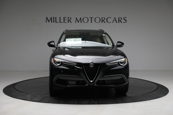 New 2021 Alfa Romeo Stelvio Ti Q4 for sale $57,400 at Alfa Romeo of Greenwich in Greenwich CT 06830 12