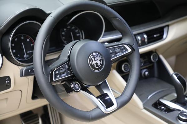 New 2021 Alfa Romeo Stelvio Ti Q4 for sale $57,400 at Alfa Romeo of Greenwich in Greenwich CT 06830 19