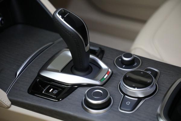New 2021 Alfa Romeo Stelvio Ti Q4 for sale $57,400 at Alfa Romeo of Greenwich in Greenwich CT 06830 20