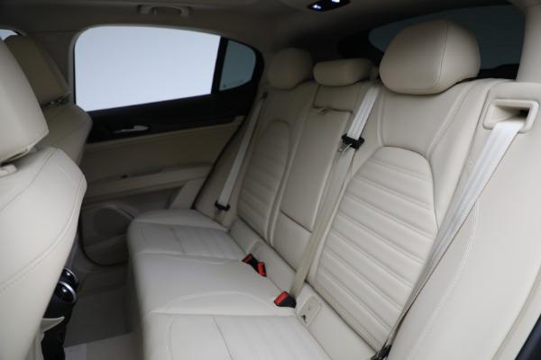 New 2021 Alfa Romeo Stelvio Ti Q4 for sale $57,400 at Alfa Romeo of Greenwich in Greenwich CT 06830 27
