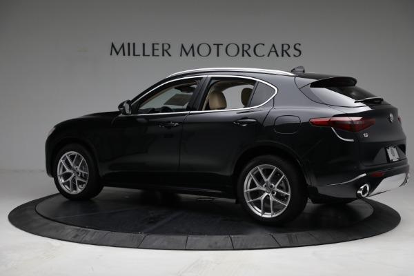 New 2021 Alfa Romeo Stelvio Ti Q4 for sale $57,400 at Alfa Romeo of Greenwich in Greenwich CT 06830 4