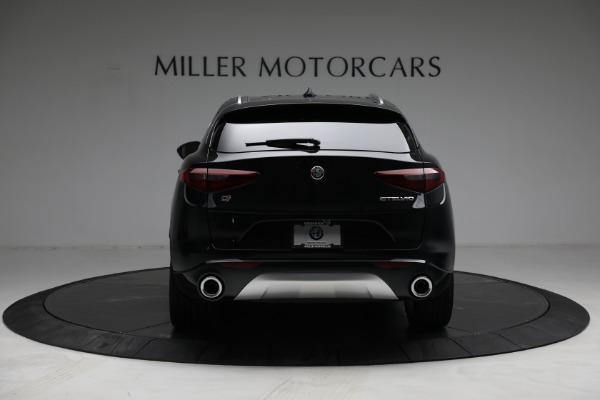 New 2021 Alfa Romeo Stelvio Ti Q4 for sale $57,400 at Alfa Romeo of Greenwich in Greenwich CT 06830 6