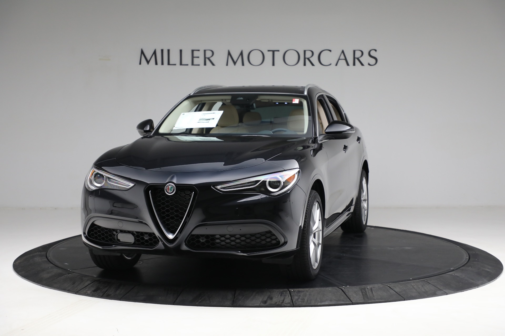 New 2021 Alfa Romeo Stelvio Ti Q4 for sale $57,400 at Alfa Romeo of Greenwich in Greenwich CT 06830 1