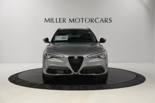 New 2021 Alfa Romeo Stelvio Ti Q4 for sale $54,400 at Alfa Romeo of Greenwich in Greenwich CT 06830 11