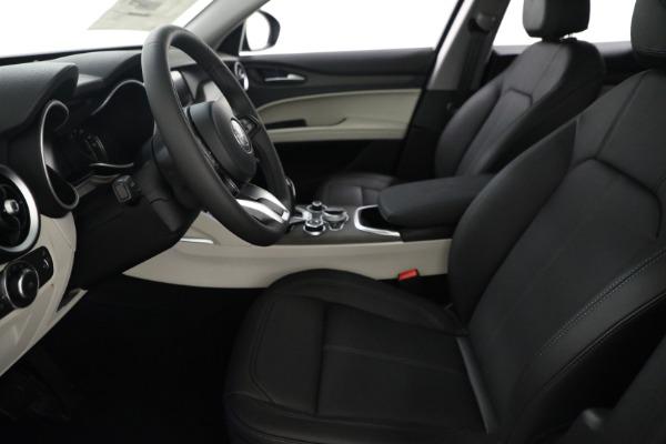 New 2021 Alfa Romeo Stelvio Ti Q4 for sale $54,400 at Alfa Romeo of Greenwich in Greenwich CT 06830 14