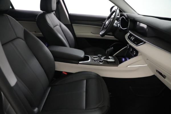 New 2021 Alfa Romeo Stelvio Ti Q4 for sale $54,400 at Alfa Romeo of Greenwich in Greenwich CT 06830 21