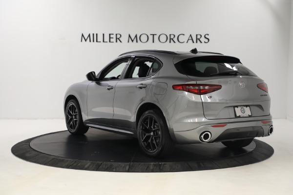 New 2021 Alfa Romeo Stelvio Ti Q4 for sale $54,400 at Alfa Romeo of Greenwich in Greenwich CT 06830 5