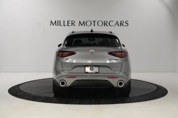 New 2021 Alfa Romeo Stelvio Ti Q4 for sale $54,400 at Alfa Romeo of Greenwich in Greenwich CT 06830 6