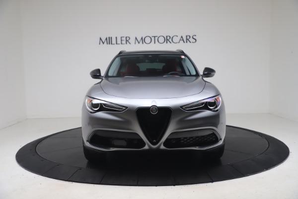 New 2021 Alfa Romeo Stelvio Ti Q4 for sale $54,400 at Alfa Romeo of Greenwich in Greenwich CT 06830 12
