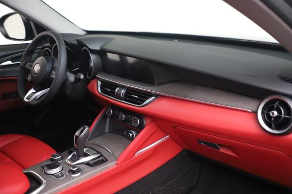 New 2021 Alfa Romeo Stelvio Ti Q4 for sale $54,400 at Alfa Romeo of Greenwich in Greenwich CT 06830 15