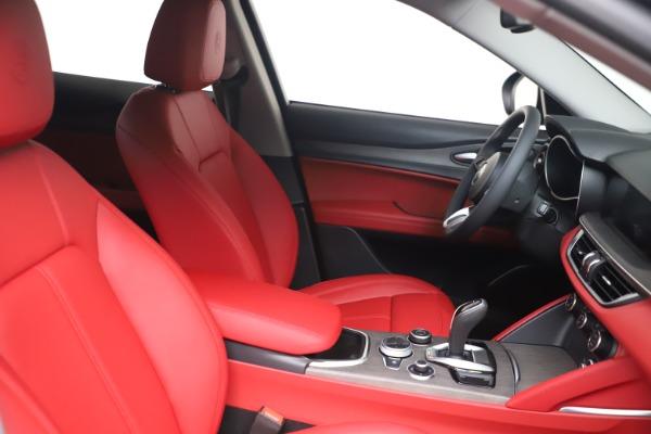 New 2021 Alfa Romeo Stelvio Ti Q4 for sale $54,400 at Alfa Romeo of Greenwich in Greenwich CT 06830 16