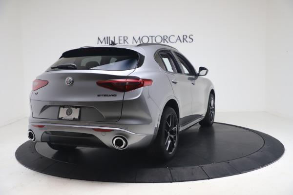 New 2021 Alfa Romeo Stelvio Ti Q4 for sale $54,400 at Alfa Romeo of Greenwich in Greenwich CT 06830 7