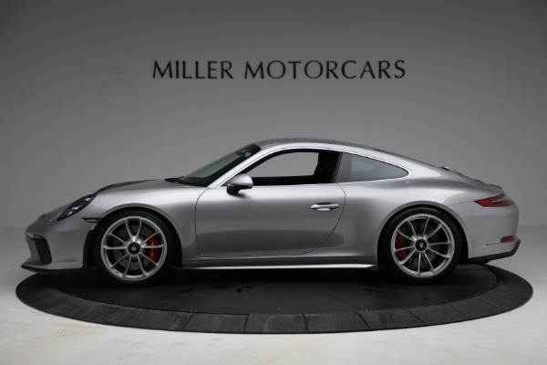 Used 2018 Porsche 911 GT3 Touring for sale Sold at Alfa Romeo of Greenwich in Greenwich CT 06830 3