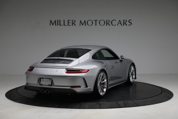 Used 2018 Porsche 911 GT3 Touring for sale Sold at Alfa Romeo of Greenwich in Greenwich CT 06830 7