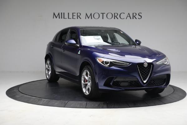 New 2021 Alfa Romeo Stelvio Quadrifoglio for sale $88,550 at Alfa Romeo of Greenwich in Greenwich CT 06830 11