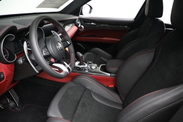 New 2021 Alfa Romeo Stelvio Quadrifoglio for sale $88,550 at Alfa Romeo of Greenwich in Greenwich CT 06830 13