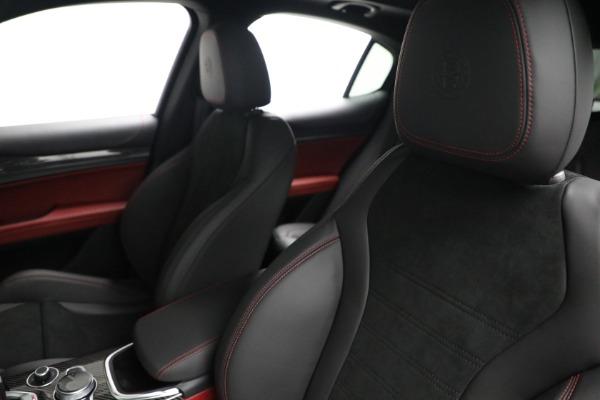 New 2021 Alfa Romeo Stelvio Quadrifoglio for sale $88,550 at Alfa Romeo of Greenwich in Greenwich CT 06830 15