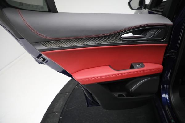 New 2021 Alfa Romeo Stelvio Quadrifoglio for sale $88,550 at Alfa Romeo of Greenwich in Greenwich CT 06830 20