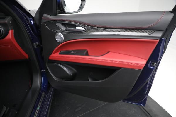 New 2021 Alfa Romeo Stelvio Quadrifoglio for sale $88,550 at Alfa Romeo of Greenwich in Greenwich CT 06830 23