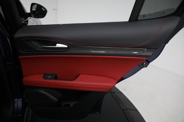 New 2021 Alfa Romeo Stelvio Quadrifoglio for sale $88,550 at Alfa Romeo of Greenwich in Greenwich CT 06830 26