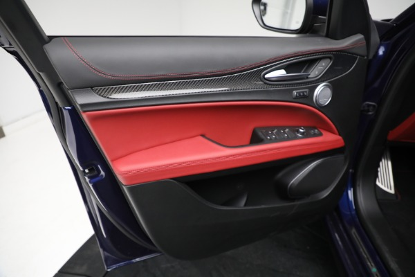 New 2021 Alfa Romeo Stelvio Quadrifoglio for sale $88,550 at Alfa Romeo of Greenwich in Greenwich CT 06830 16