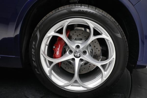 New 2021 Alfa Romeo Stelvio Quadrifoglio for sale $88,550 at Alfa Romeo of Greenwich in Greenwich CT 06830 27