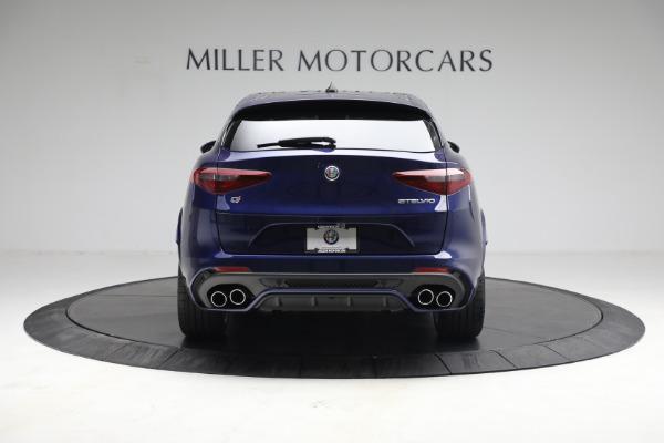 New 2021 Alfa Romeo Stelvio Quadrifoglio for sale $88,550 at Alfa Romeo of Greenwich in Greenwich CT 06830 6