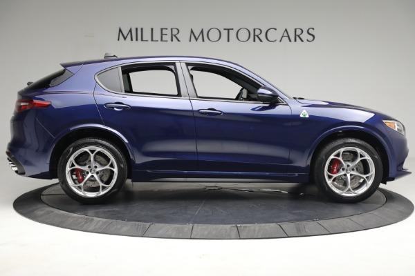 New 2021 Alfa Romeo Stelvio Quadrifoglio for sale $88,550 at Alfa Romeo of Greenwich in Greenwich CT 06830 8