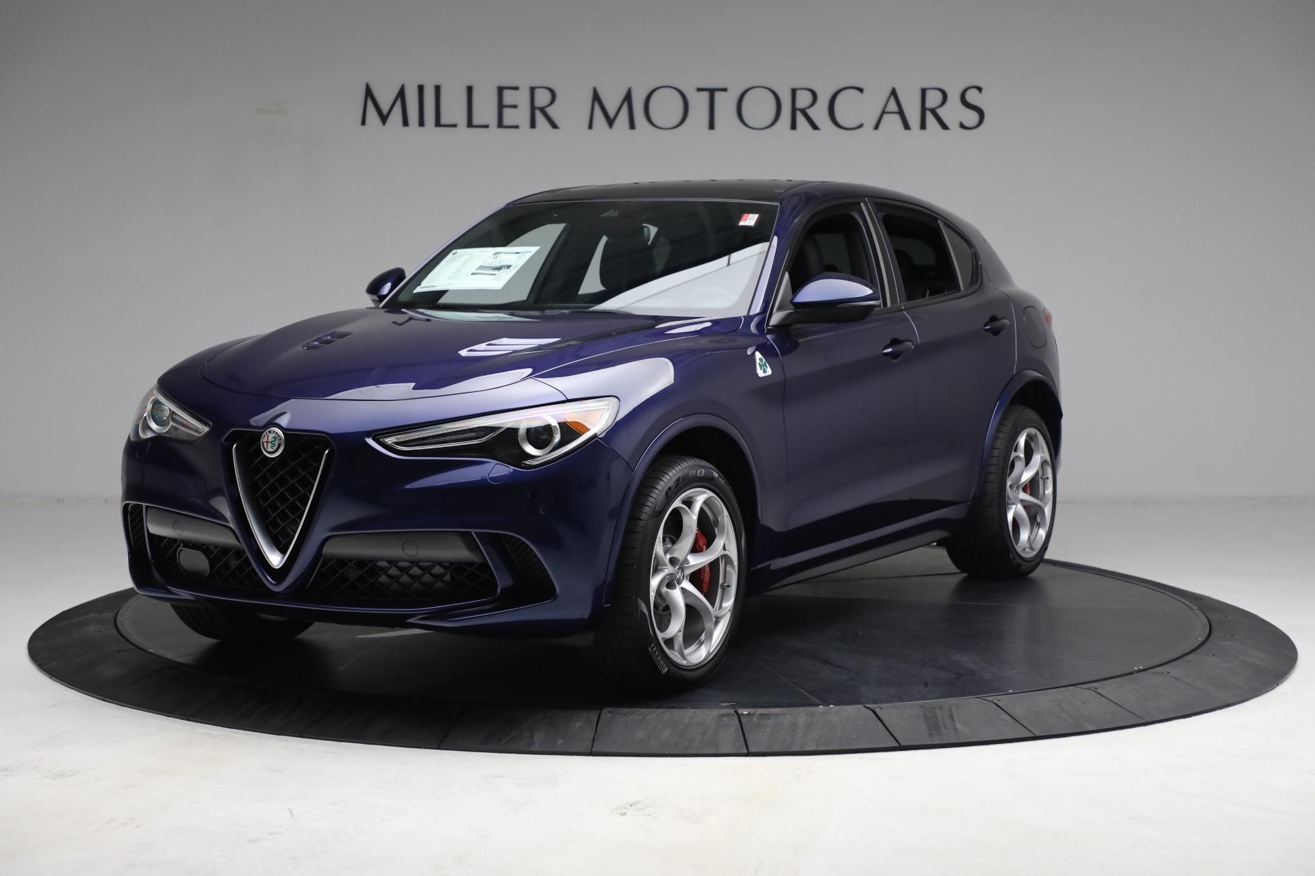 New 2021 Alfa Romeo Stelvio Quadrifoglio for sale $88,550 at Alfa Romeo of Greenwich in Greenwich CT 06830 1