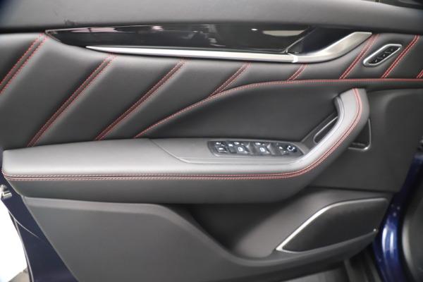 New 2021 Maserati Levante GranSport for sale Call for price at Alfa Romeo of Greenwich in Greenwich CT 06830 17