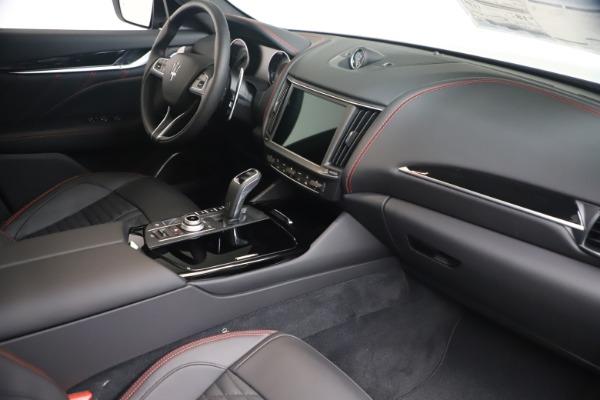 New 2021 Maserati Levante GranSport for sale Call for price at Alfa Romeo of Greenwich in Greenwich CT 06830 18