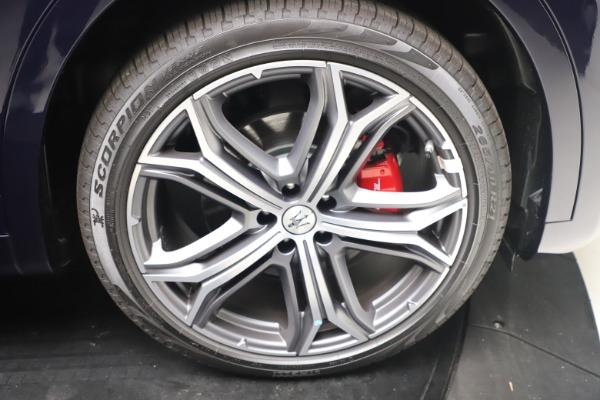 New 2021 Maserati Levante GranSport for sale Call for price at Alfa Romeo of Greenwich in Greenwich CT 06830 22