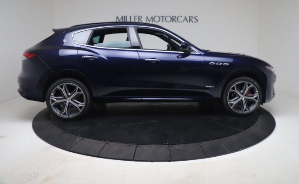 New 2021 Maserati Levante GranSport for sale Call for price at Alfa Romeo of Greenwich in Greenwich CT 06830 9