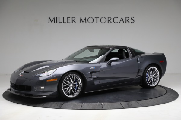 Used 2010 Chevrolet Corvette ZR1 for sale Call for price at Alfa Romeo of Greenwich in Greenwich CT 06830 2