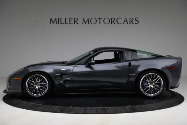 Used 2010 Chevrolet Corvette ZR1 for sale Call for price at Alfa Romeo of Greenwich in Greenwich CT 06830 3