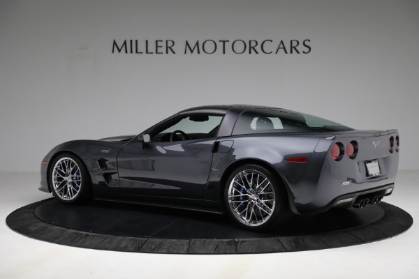 Used 2010 Chevrolet Corvette ZR1 for sale Call for price at Alfa Romeo of Greenwich in Greenwich CT 06830 4