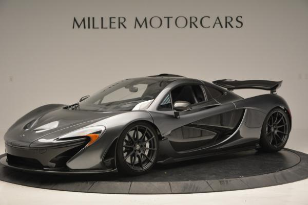 Used 2014 McLaren P1 for sale Call for price at Alfa Romeo of Greenwich in Greenwich CT 06830 2