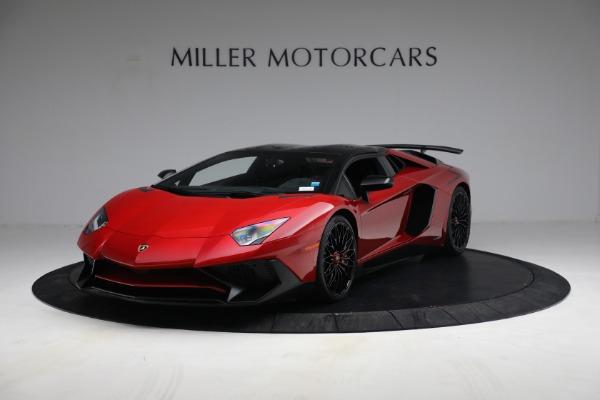 Used 2017 Lamborghini Aventador LP 750-4 SV for sale $599,900 at Alfa Romeo of Greenwich in Greenwich CT 06830 10