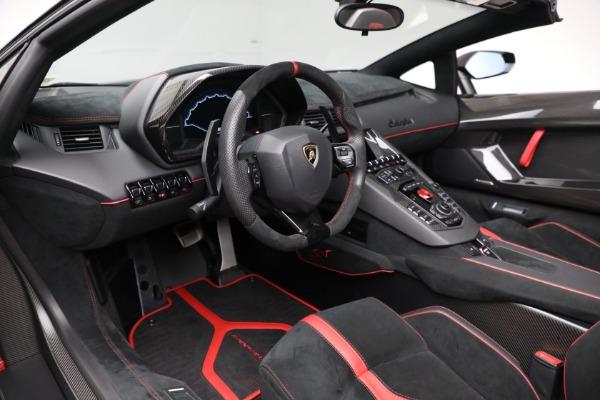 Used 2017 Lamborghini Aventador LP 750-4 SV for sale $599,900 at Alfa Romeo of Greenwich in Greenwich CT 06830 19