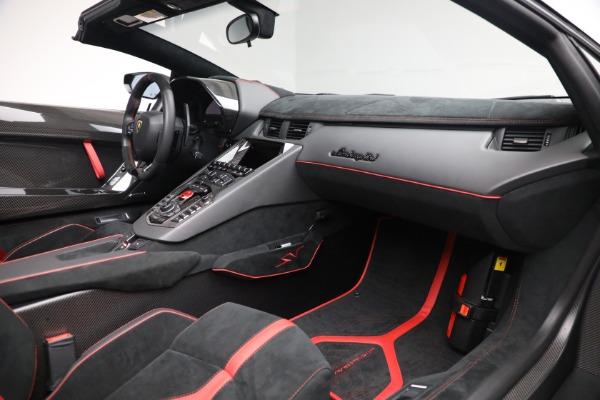 Used 2017 Lamborghini Aventador LP 750-4 SV for sale $599,900 at Alfa Romeo of Greenwich in Greenwich CT 06830 22